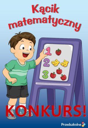 grafika promująca konkurs na kącik matematyczny